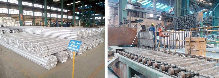 High quality and efficient aluminum rod production line